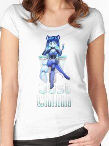 Krystal is Chillin  Women's Fitted Scoop T-Shirt