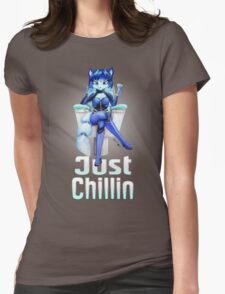 Krystal is Chillin  Womens Fitted T-Shirt