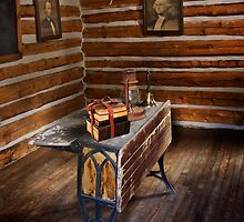 First Schoolhouse in Keystone, South Dakota by Alex Preiss