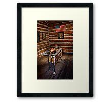 First Schoolhouse in Keystone, South Dakota Framed Print