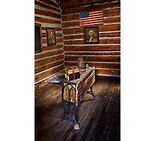 First Schoolhouse in Keystone, South Dakota Photographic Print