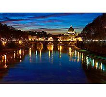 Rome sunset Photographic Print