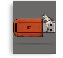 USB Rider Canvas Print
