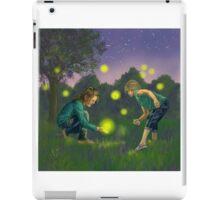 Catching Fireflies  iPad Case/Skin