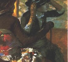 Edgar Degas French Impressionism Oil Painting by jnniepce