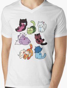 Gem Atsume Mens V-Neck T-Shirt
