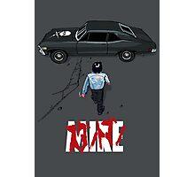 Stuntman Mike Photographic Print