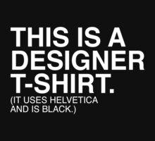 Designer T-Shirt by Amnesiaco
