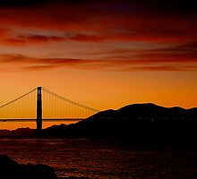 Sunset in San Francisco by Fern Blacker