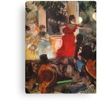 Edgar Degas French Impressionism Oil Painting Cafe Concert Canvas Print