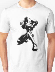 Samus from Metroid 2 Unisex T-Shirt