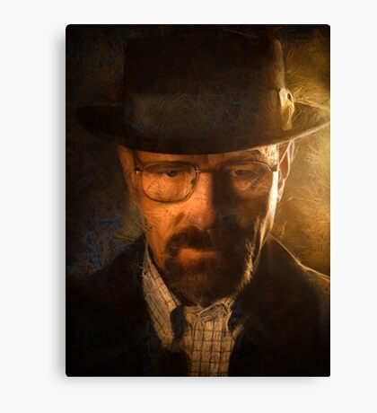 Heisenberg - Breaking Bad Canvas Print