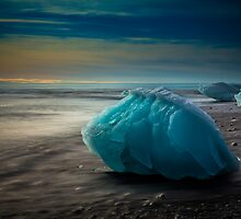 Blue Ice by LJWPhotography