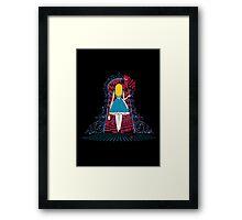 Spinning Wonderland Framed Print