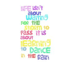 Dance In  The Rain by NatalieMirosch
