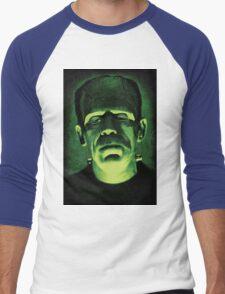 frankenstien Men's Baseball ¾ T-Shirt