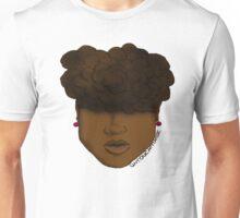 Natural Hair Up-do Unisex T-Shirt