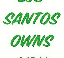 GTA V: Los Santos Owns You  by TheCrimzon
