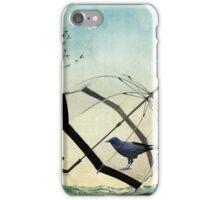 black rain iPhone Case/Skin