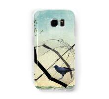 black rain Samsung Galaxy Case/Skin