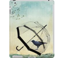 black rain iPad Case/Skin