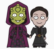 Madame Vastra and Jenny (sticker) by redscharlach