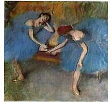 Edgar Degas French Impressionism Oil Painting Dancers Photographic Print