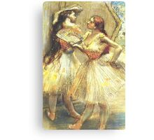 Edgar Degas French Impressionism Oil Painting Ballerinas Canvas Print
