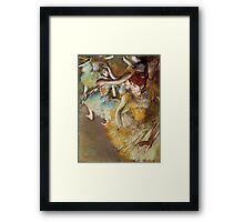 Edgar Degas French Impressionism Oil Painting Dancers Framed Print