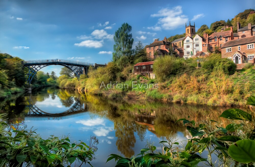 Iron Bridge by Adrian Evans