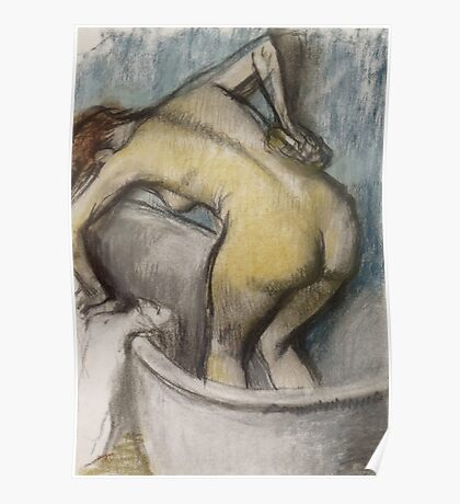 Edgar Degas French Impressionism Oil Painting Bath Poster