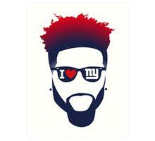 Odell Beckham Jr - New York Giants Art Print