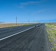 QUEMADO LONELY ROAD by Thomas Barker-Detwiler