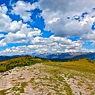 """Top of Shrine Pass"" Vail,Colorado by AlexandraZloto"