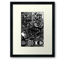 Ink Drawings 3. Framed Print