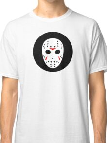 Halloween Hockey Mask Jason Friday 13th Ideology Classic T-Shirt