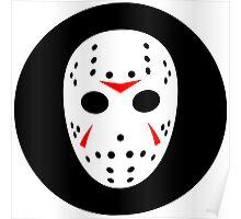 Halloween Hockey Mask Jason Friday 13th Ideology Poster