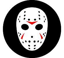 Halloween Hockey Mask Jason Friday 13th Ideology Photographic Print