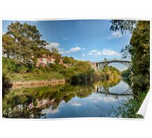 River Severn IronBridge Poster