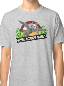 Wizard of Oz Inspired - Flying Monkey Airlines - Flying Monkeys - Airline Parody Design - OZ  Classic T-Shirt