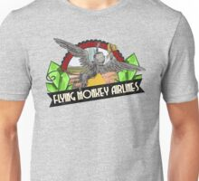 Wizard of Oz Inspired - Flying Monkey Airlines - Flying Monkeys - Airline Parody Design - OZ  Unisex T-Shirt