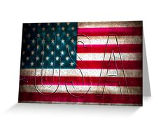 USA Greeting Card