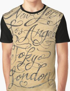 freehand cities Graphic T-Shirt