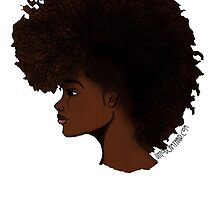 Natural Hair Frohawk by artbyIfe