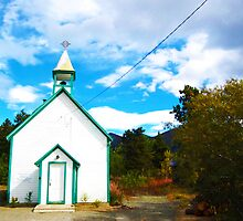 Oldest Church in the Yukon  by ChelcieSPorter
