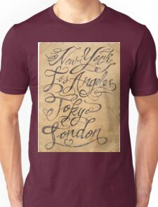 freehand cities Unisex T-Shirt