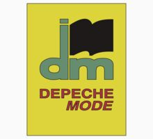 Depeche Mode : DM Logo from 1986 official t-shirt by Luc Lambert