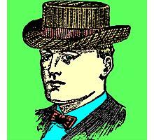 Vintage Brown Hat Photographic Print