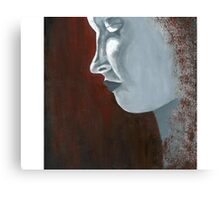 Silver Lady Canvas Print