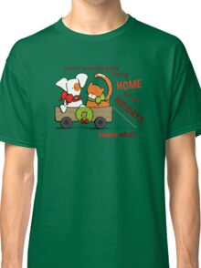 Patch & Rusty : Nothing like Home for Holidays Classic T-Shirt